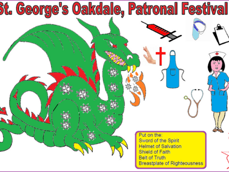 PATRONAL FESTIVAL EMAIL PICTURES DURING COVID-19 PANDEMIC LOCKDOWN APRIL 2020