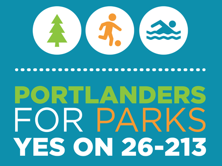 We Support PDX Parks