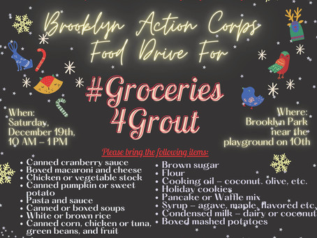 Groceries 4 Grout and BottleDrop