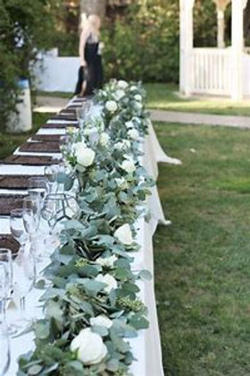 Eucalyptus leaf Table Garland