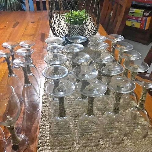 Wine glasses - set of 5