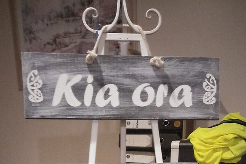 Kia Ora Sign