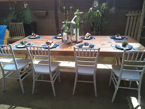 Rustic Timber Table 10 Seater