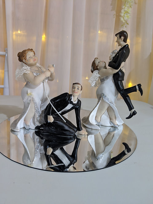 Cake Toppers each