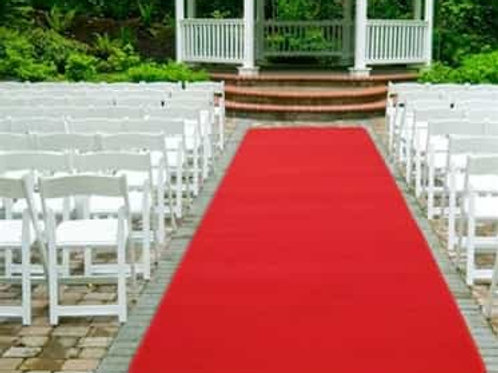 Red Carpet Aisle