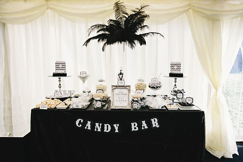 Lets Design your candy or desert bar from: