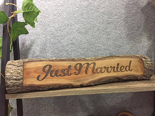 Just Married Log