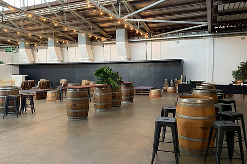 WINE BARRELS & STOOL PACKAGE