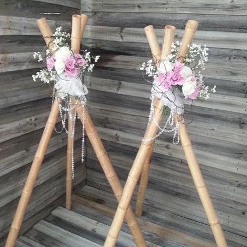 Bamboo Teepee set of two