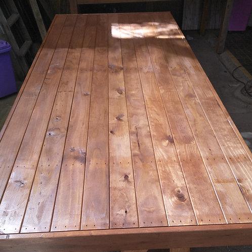 Wooden Barrel Table Top