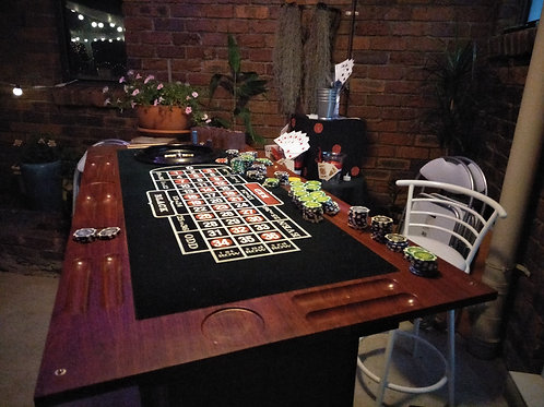 MENS: 3 n 1 Casino Table includes delivery & setup