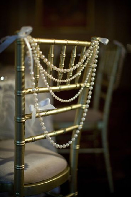 Pearl Chair Decor