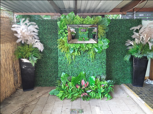 Large Greenery Wall Complete including delivery