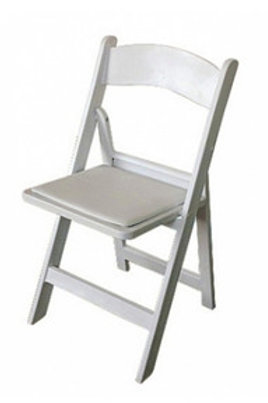 White Americana Chairs