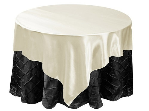 Table Overlay (Satin) - Ivory