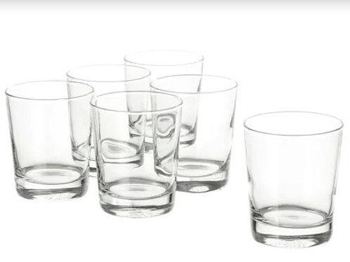 Glass Tumblers Pack of Six