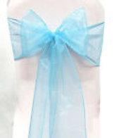 Baby Blue Sashe x5