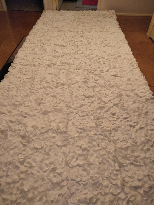 White Petal Aisle