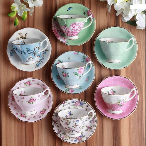 Duo's Cup & Saucer