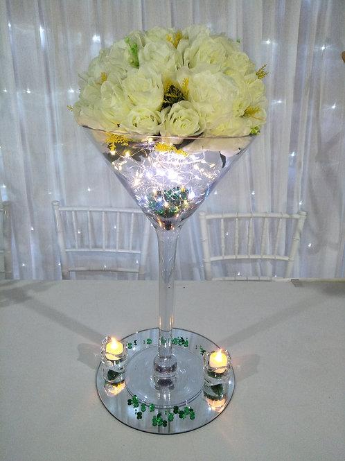 Martini Centerpiece Complete