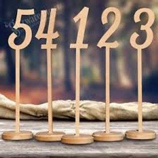 Long Table Nos 1-10