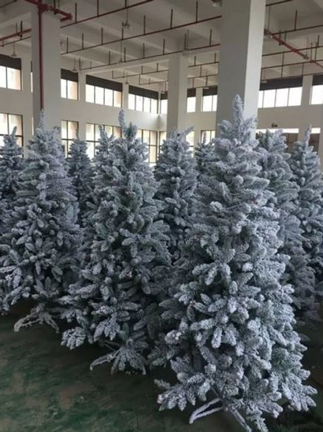 White Christmas Tree with Led Lights