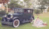 Roaring twenties vintage car