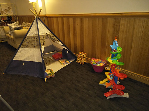 Kids Teepee, books and so much more