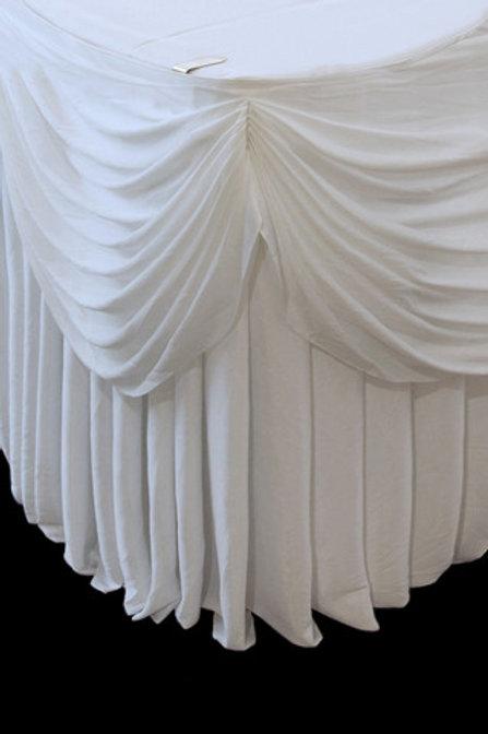 Round Cake Table Skirt