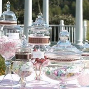 Candy Bar Jars From