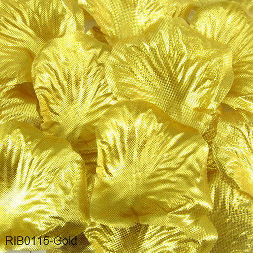 Gold Metalic Wedding Petals 500 pack