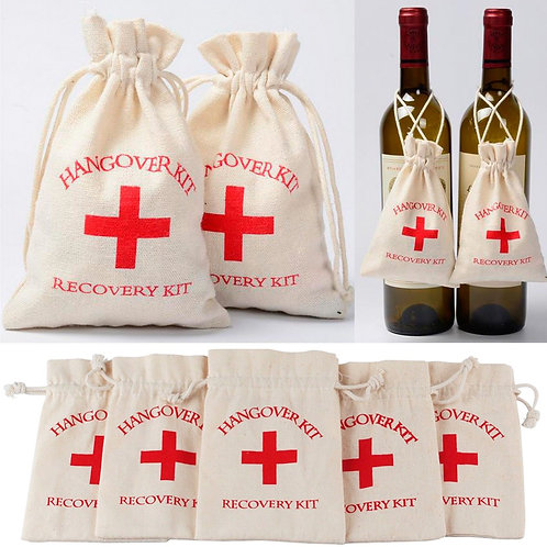 10 x Hangover/Survival Kit Bags (fill your own)