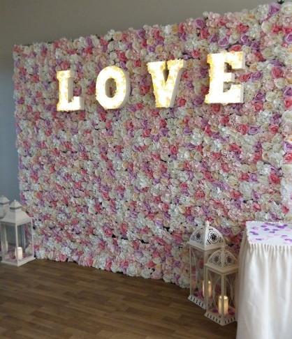Wedding-decorations-flower-wall