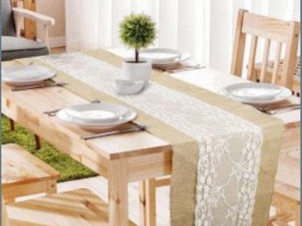 Hessian / Burlap Table Runner