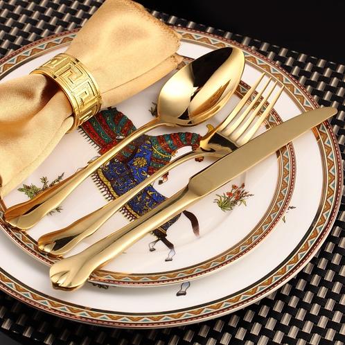Gold Cutlery - 3 piece Set