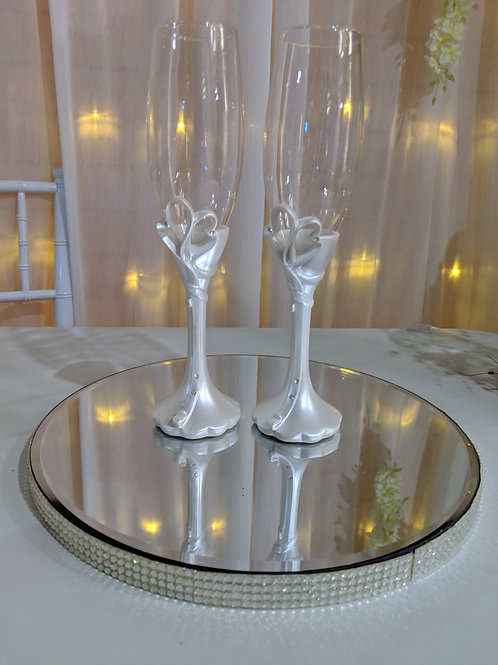 Bridal Toasting Glasses