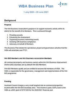 WBA Business Plan 2020 - 2021.JPG