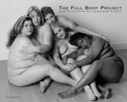 "Plus-size Art: ""The Full Body project"" by Leonard Nimoy"