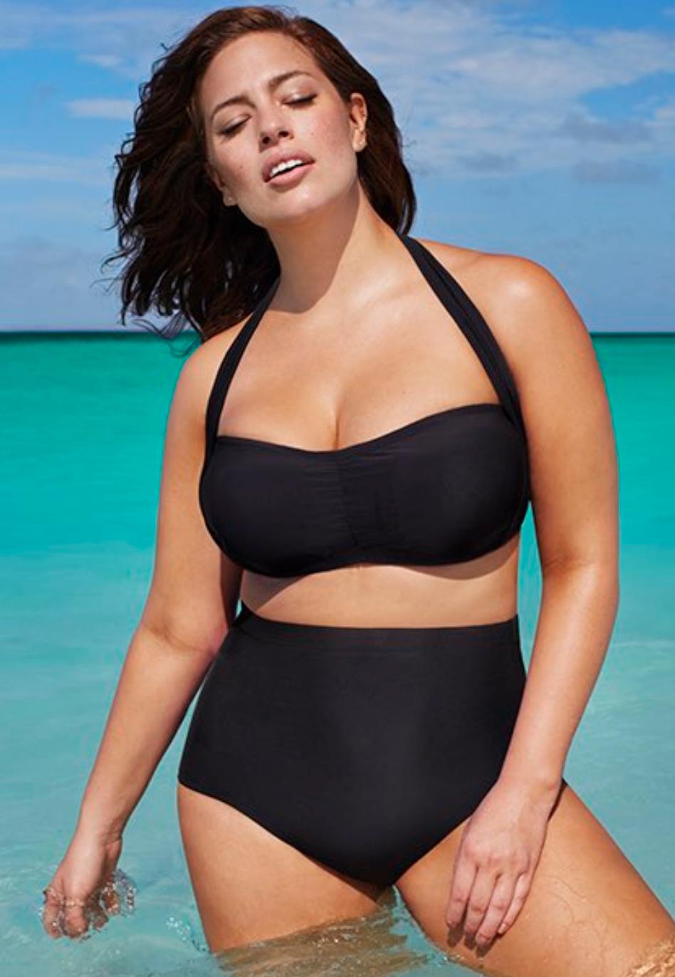 Swim Sexy The Icon Black High Waist Bikini 43.40$