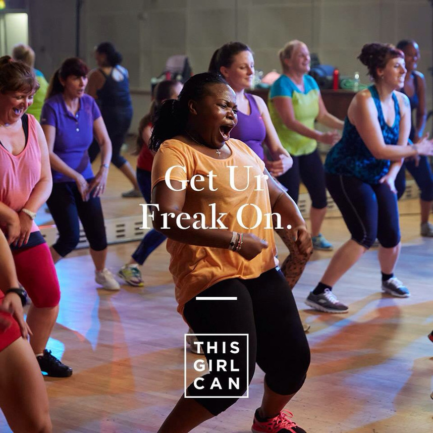 Fat girls can dance too !