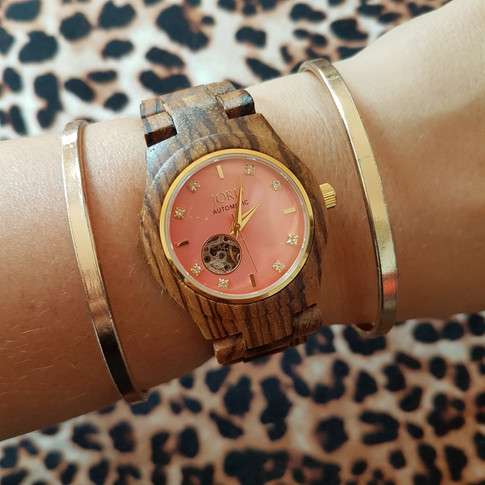 Unique gifts for women: the JORD wood watch CORA series