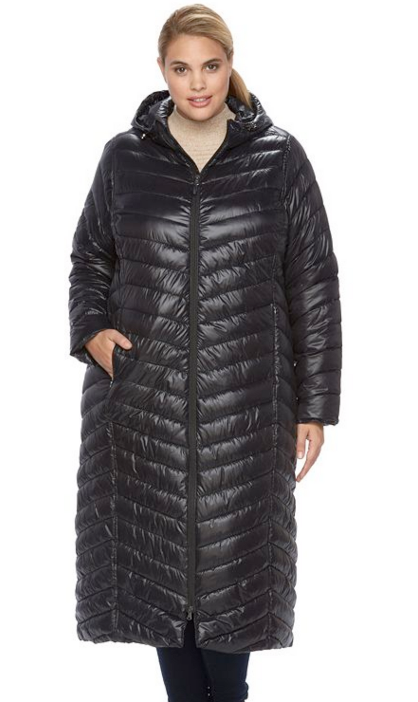 Winter is coming... 7 gorgeous plus size Puffer Coats