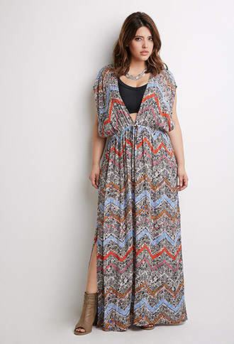 Pick a Forever 21 + maxi dress