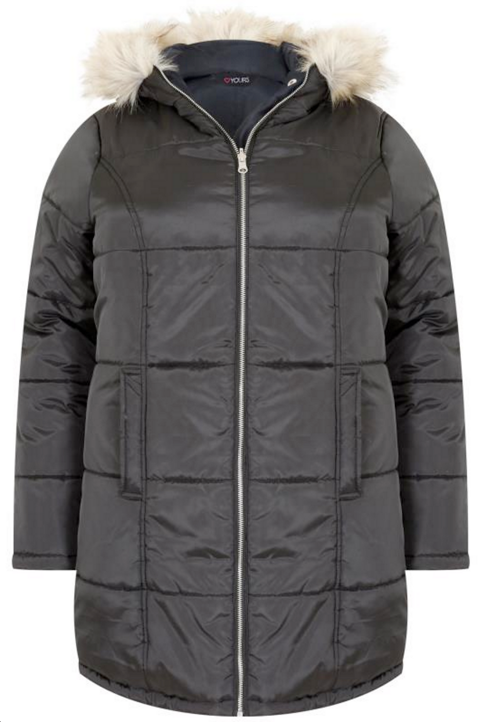 Converible puffer Jacket YOURS CLOTHING