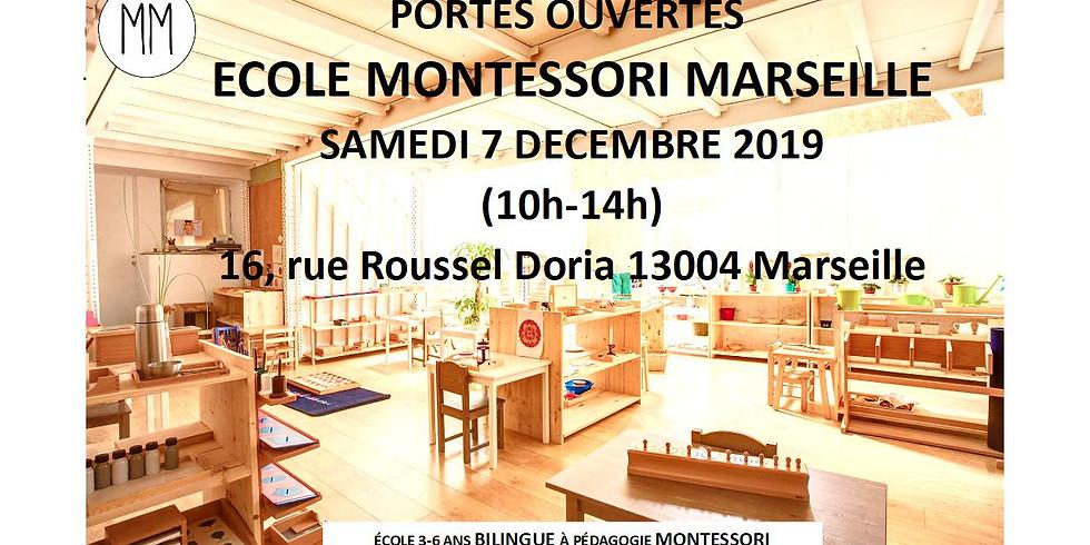 Journée portes ouvertes à Montessori Marseille