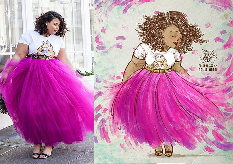 PLUS-SIZE ART: EDULL ARDO