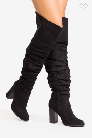 15 Gorgeous Over-the-knee Boots for wide calves