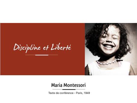 Discipline et Liberté