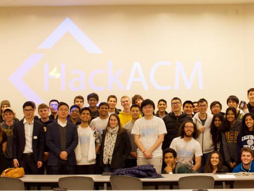 RAVV Participates in ACM Hackathon 2018