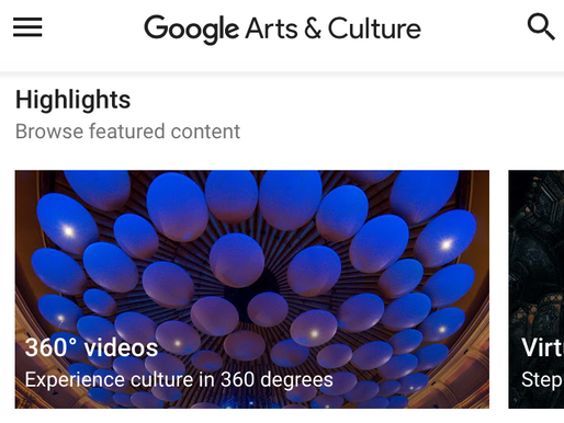 What's Trending: Google Arts and Culture